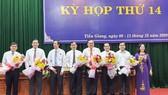 Ông Nguyễn Văn Vĩnh được bầu giữ chức Chủ tịch UBND tỉnh Tiền Giang