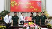 Đồng chí Trần Thanh Mẫn thăm và chúc tết Quân khu 9