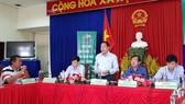 Các ngành chức năng tỉnh An Giang thông tin về ngày hội sản phẩm OCOP tại buổi họp báo