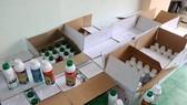 Phát hiện nhiều thuốc bảo vệ thực vật nghi giả trên xe giám đốc công ty