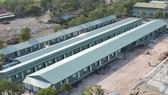 Bệnh viện dã chiến ở TP Hà Tiên, tỉnh Kiên Giang