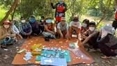 Triệt phá sới bạc tại huyện biên giới An Phú