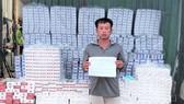 Bắt giữ tàu chở 26.500 bao thuốc lá ngoại ở vùng biển Kiên Giang