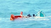 Kiên Giang: Cứu thành công 7 ngư dân bị nạn trên biển