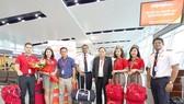 Vietjet chào mừng chuyến bay đầu tiên Hà Nội-Siem Reap