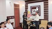Lãnh đạo TP Cần Thơ thăm và làm việc với TĐ Sao Mai