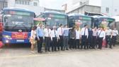 TPHCM khai trương 34 xe buýt sử dụng nhiên liệu sạch