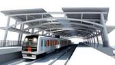 Mô hình tuyến metro Bến Thành - Suối Tiên