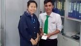 Anh Hồ Đình Quyết - tài xế taxi Mai Linh trả lại 1,2 tỷ đồng cho hành khách bỏ quên trên xe
