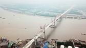 Hợp long cầu Bạch Bằng nối tỉnh Quảng Ninh và TP Hải Phòng