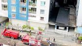 Công tác sửa chữa Chung cư Carina sau vụ cháy: Đảm bảo an toàn