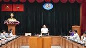 Đồng chí Trần Lưu Quang phát biểu chỉ đạo thực hiện tuyến metro số 2 Bến Thành - Tham Lương