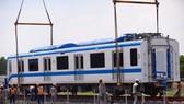 Đoàn tàu thứ 3 tuyến Metro số 1 Bến Thành-Suối Tiên đã lên ray