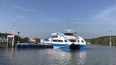 TPHCM tạm ngưng hoạt động tàu cao tốc từ bến Bạch Đăng đi Cần Giờ, Vũng Tàu và ngược lại. Ảnh: QUỐC HÙNG