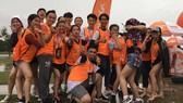 Các bạn trẻ Lâm Đồng tham gia vui chơi nhân sự kiện Vietnamobile phủ sóng nơi đây