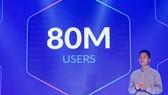Theo VNG, Zalo đã có 80 triệu người dùng