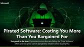 Cảnh báo của  Microsoft về phần mềm lậu