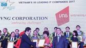 VNG nhận giải Top 50 doanh nghiệp CNTT hàng đầu Việt Nam