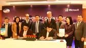Viettel và Microsoft ký kết hợp tác