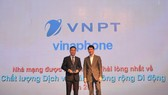 VinaPhone nhận giải thưởng
