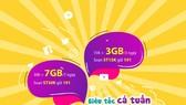 Data siêu tốc - siêu rẻ với 15.000 đồng có 3GB
