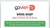 GoViet triển khai Cổng thông tin điện tử tra cứu thu nhập dành cho các đối tác tài xế