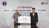 LG tài trợ Việt Nam 10.000 bộ kit xét nghiệm PCR xét nghiệm COVID-19