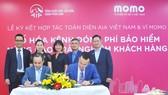 Ví MoMo và AIA hợp tác toàn diện và triển khai kênh thanh toán chiến lược