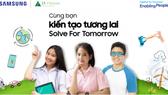 Samsung tổ chức cuộc thi Solve For Tomorrow