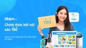 Sapo Go chính thức mở thêm cổng kết nối với sàn thương mại điện tử Tiki