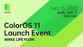 OPPO chính thức giới thiệu ColorOS 11 thông qua sự kiện trực tuyến
