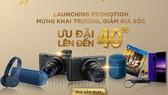 Mua sắm sản phẩm tại cửa hàng trực tuyến chính hãnh Sony sẽ thêm nhiều ưu đãi