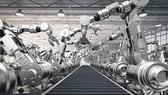 Robot sản xuất xe hơi