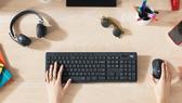 Logitech với sản phẩm bàn phím, chuột máy tính... giúp làm việc tại nhà hiệu quả hơn