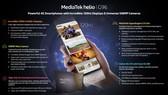 MediaTek giới thiệu hai chipset mới bổ sung vào dòng Helio G