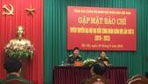 Tổng cục Chính trị Quân đội nhân dân Việt Nam gặp mặt báo chí