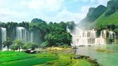 Thác Bản Giốc nằm trong Công viên địa chất toàn cầu