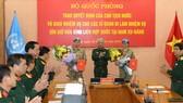 Cử 2 sĩ quan tham gia Lực lượng Gìn giữ hòa bình Liên hiệp quốc