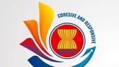 Logo Năm ASEAN 2020 có hình hoa sen cách điệu