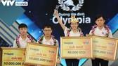 Nguyễn Thị Thu Hằng (Trường THPT Kim Sơn A, Ninh Bình) xuất sắc trở thành nhà vô địch cuộc thi Đường lên đỉnh Olympia 2020. Ảnh: VTV