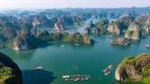 Những khung hình đẹp như tranh trên vịnh Lan Hạ
