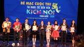 9 HCV được trao cho các tài năng diễn viên kịch nói 2020
