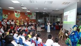 Sôi động chương trình giáo dục trải nghiệm tại Bảo tàng Hồ Chí Minh