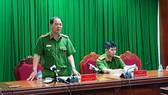 Đại tá Nguyễn Văn Băng, Phó Giám đốc Cảnh sát PCCC TPHCM thông tin về công tác chữa cháy, cứu nạn vụ cháy