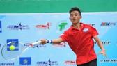 Tay vợt trẻ Nguyễn Văn Phương khởi đầu năm bằng chiến thắng.