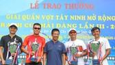 Tất cả các tay vợt hàng đầu vừa dự giải Tây Ninh vào đầu năm.