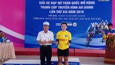 Nguyễn Thị Thu Mai tạm giữ áo vàng sau 2 chặng.