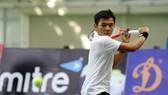 Lý Hoàng Nam lấy cả 3 HCV quần vợt nam.