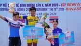 Tay đua Jutatip có chiến thắng đầu tiên tại giải.