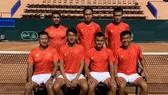 Đội tuyển quần vợt Việt Nam chuẩn bị quyết đấu với đội chủ nhà Morocco.